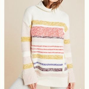 Anthropologie Elana Tunic Sweater